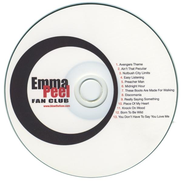 07 Emma Peel Fan Club disc