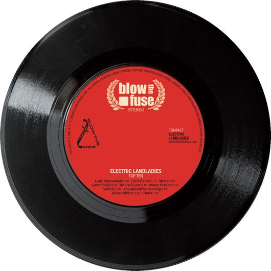 Electric Landladies -  CD Body
