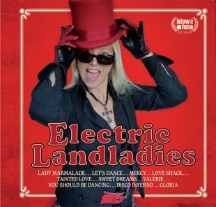Electric Landladies - CD Cover